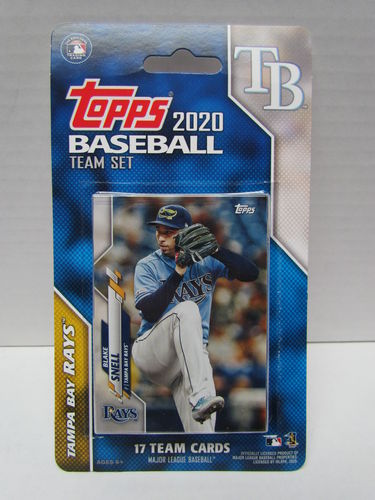 2020 Topps Team Set Tampa Bay Rays