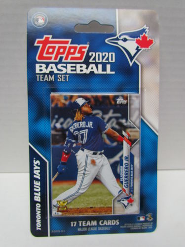 2020 Topps Team Set Toronto Blue Jays