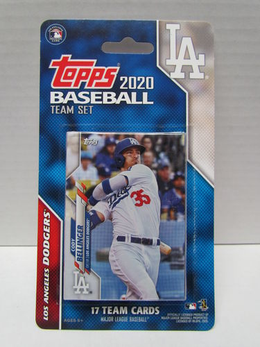 2020 Topps Team Set Los Angeles Dodgers