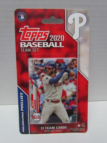 2020 Topps Team Set Philadelphia Phillies