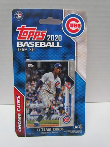 2020 Topps Team Set Chicago Cubs