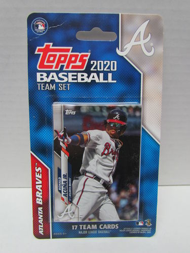 2020 Topps Team Set Atlanta Braves
