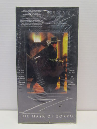 DuoCards The Mask of Zorro Trading Cards Box
