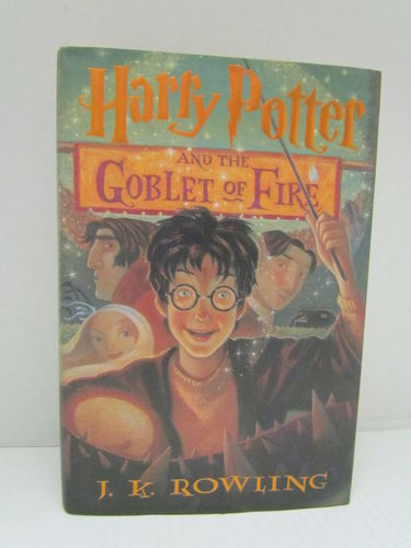 Harry Potter and the Goblet of Fire (First Printing)