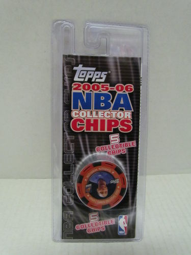 2005/06 Topps NBA Collector Chips Pack (Shawn Marion - Red)
