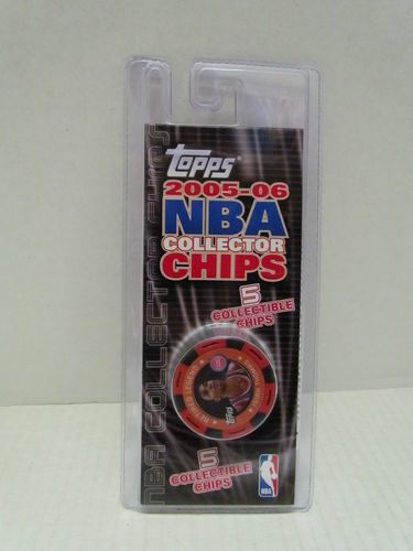 2005/06 Topps NBA Collector Chips Pack (Isiah Thomas - Red)