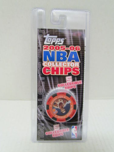 2005/06 Topps NBA Collector Chips Pack (Walt Frazier - Red)