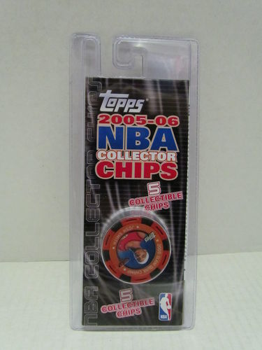 2005/06 Topps NBA Collector Chips Pack (Josh Smith - Red)