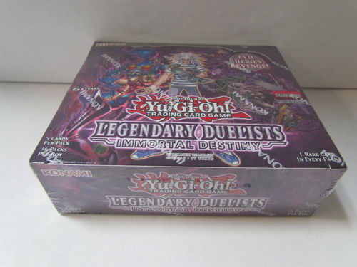YuGiOh Legendary Duelists Immortal Destiny 1st Edition Booster Box