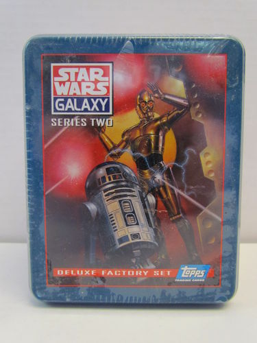 Topps Star Wars Galaxy Series 2 Deluxe Factory Set (Tin)