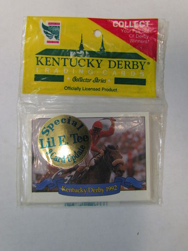 1992 Horse Star Kentucky Derby (Special Lil E. Tee) Trading Cards Update Set