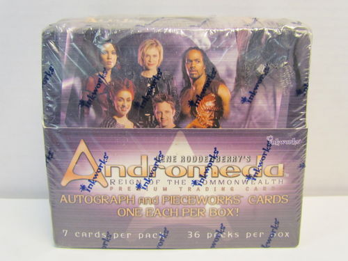 Inkworks ANDROMEDA REIGN OF THE COMMONWEALTH Trading Cards Box