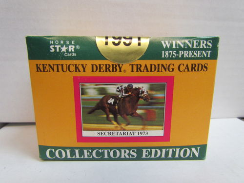 1991 Horse Star Kentucky Derby Trading Cards Factory Set