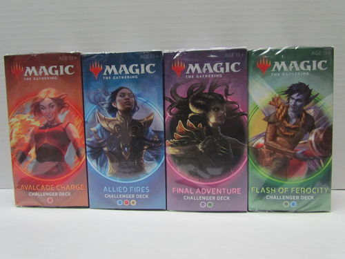 Magic the Gathering 2020 Challenger Deck (Set of 4)