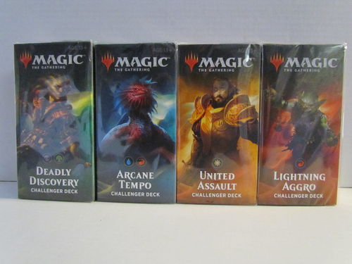 Magic the Gathering 2019 Challenger Deck (Set of 4)