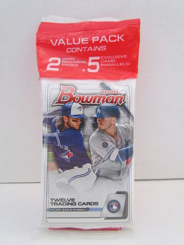 2020 Bowman Baseball Cello Value Pack