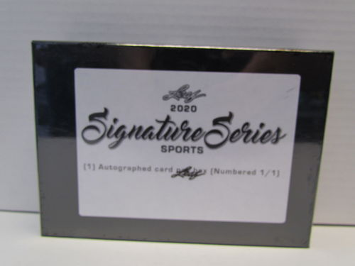 2020 Leaf Signature Series Sports Box