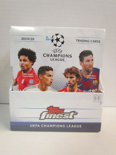 2019/20 Topps Finest UEFA Champions League Soccer Hobby Box