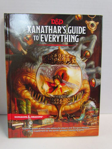Dungeons & Dragons 5E: Xanathar's Guide to Everything Manual
