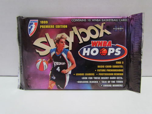 1999 Hoops WNBA Hobby Pack