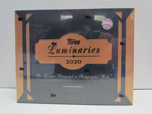2020 Topps Luminaries Baseball Hobby Box