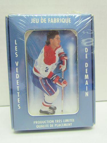 1991/92 Ultimate Sportscards Future Sensations Hockey Premier Edition Factory Set (French)