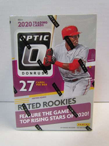 2020 Panini Donruss Optic Baseball Blaster Box