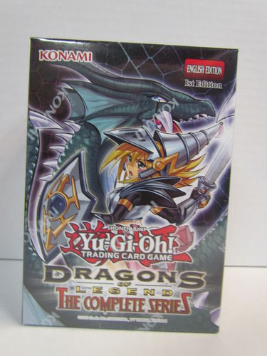 YuGiOh Dragons of Legend The Complete Series 1st Edition Box