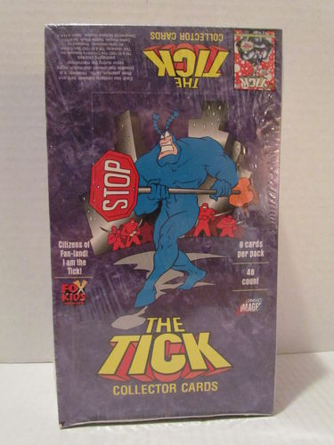 Comic Images Fox Kids The Tick Trading Cards Box