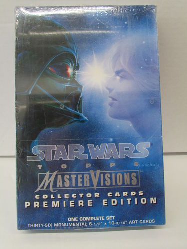 Topps Star Wars MasterVisions Collector Cards Box Set