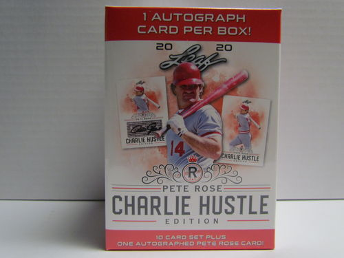 2020 Leaf Pete Rose Charlie Hustle Edition Baseball Hobby Box Set