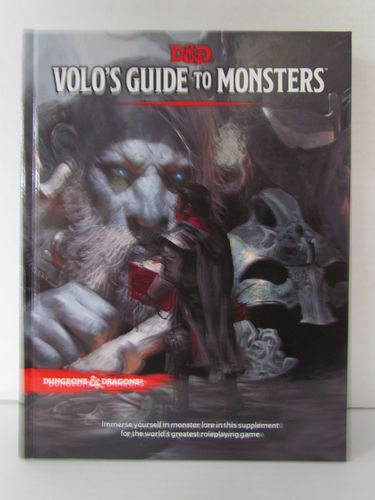 Dungeons & Dragons 5E: Volo's Guide to Monster Manual