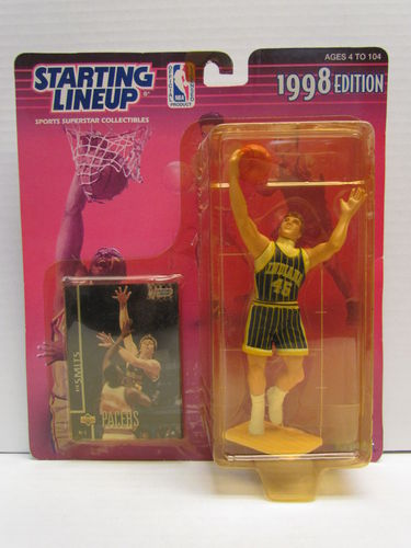 RIK SMITS 1998 Starting Lineup Basketball Figure (package yellowed)