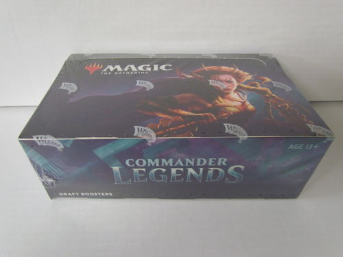 Magic the Gathering Commander Legends Draft Booster Box