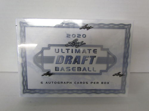 2020 Leaf Ultimate Draft Baseball Hobby Box