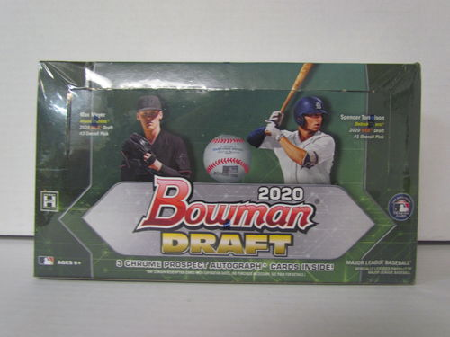 2020 Bowman Draft Baseball Jumbo Box