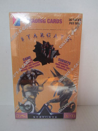 Collect-A-Card STARGATE Movie Trading Cards Hobby Box