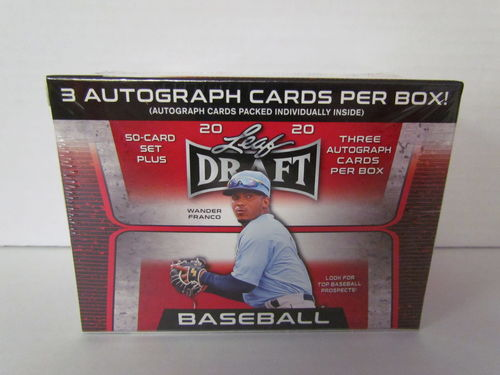 2020 Leaf Draft Baseball Hobby Blaster Box