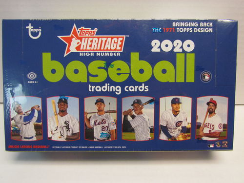 2020 Topps Heritage High Number Series Baseball Hobby Box