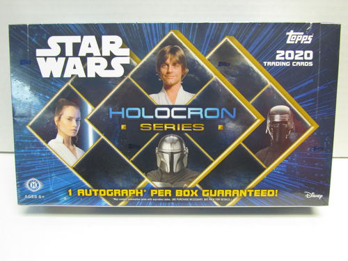 Topps Star Wars HOLOCRON Series Hobby Box