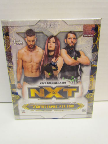 2020 Topps WWE NXT Wrestling Trading Cards Hobby Box
