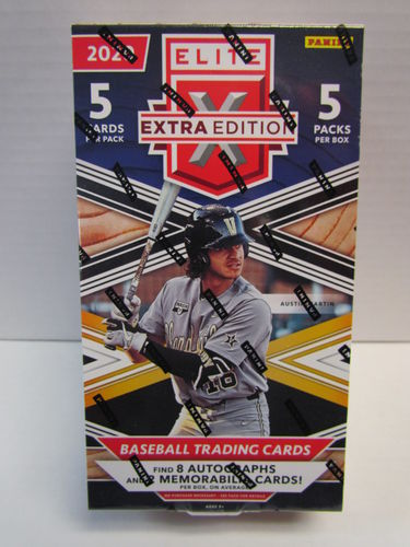 2020 Panini Elite Extra Edition Baseball Hobby Box