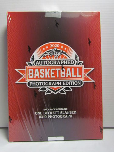 2020 Leaf Signed Photo Edition Basketball Box