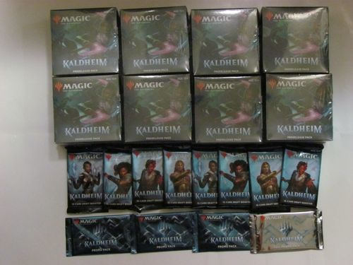 Magic the Gathering Kaldheim Prerelease Pack (Prerelease Tournament Package)