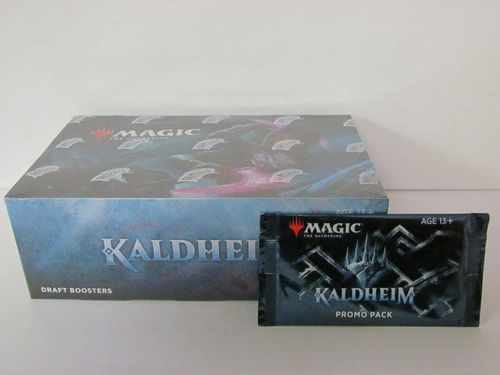 Magic the Gathering Kaldheim Draft Booster Box with Promo Pack