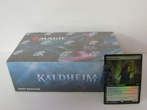 Magic the Gathering Kaldheim Draft Booster Box with Buy-A-Box Promo
