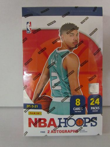 2020/21 Panini Hoops Basketball Hobby Box