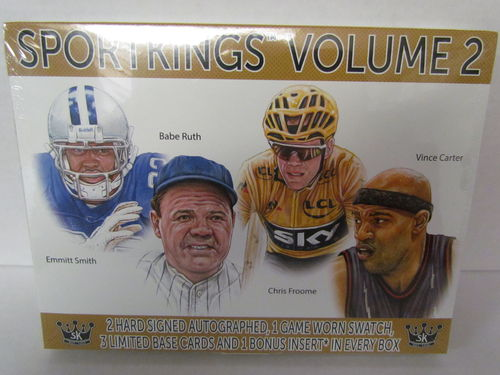 2021 Sage SportKings Volume 2 Hobby Box