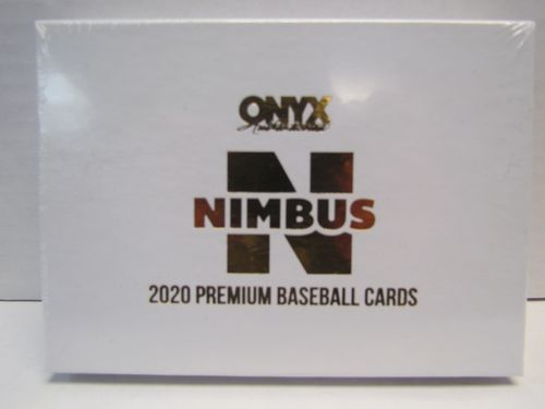 2020 Onyx Nimbus Collection Baseball Box