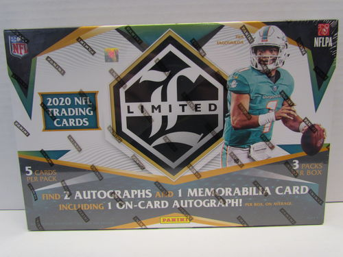 2020 Panini Limited Football Hobby Box